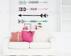 Grateful wall decal arrow wall decal vinyl decal by ValdonImages