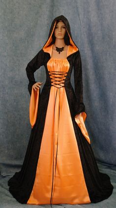 Gothic Medieval Renaissance Dress by camelotcostumes,+$199.00