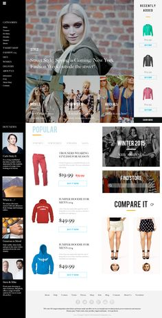 Fashion Store on Behance