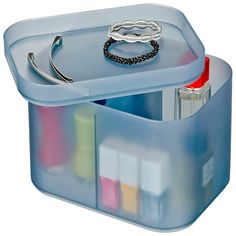 Wenko Ice Cube M Make-up Storage. Available at Douglas