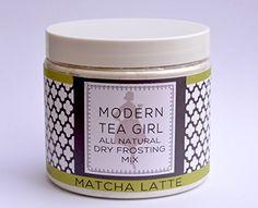All Natural Dry Frosting Mix Matcha Latte Modern Tea Girl http://www.amazon.com/dp/B00PZBIVM8/ref=cm_sw_r_pi_dp_waDhvb06CPWRN