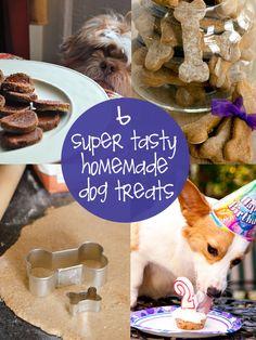 6 homemade dog treats