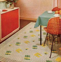 1950s rug