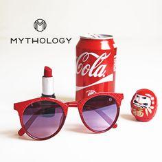 Red sunglasses by Mythology - Gafas de sol - Occhiali da Sole 25€