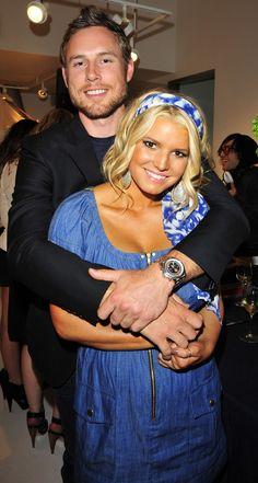 """Jessica Simpson and Eric Johnson - Daughter """"Maxwell"""" born 2012, Son """"Ace"""" born June 2013."""