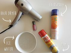 Does cooking spray ACTUALLY dry your nails?
