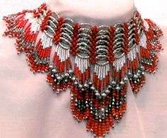 Projects - Collar-Style Necklace with Glass Beads and Seed Beads - Fire Mountain Gems and Beads