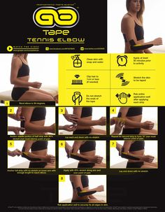 GO Tape Application Instructions for Tennis Elbow