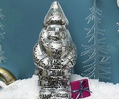 Introducing the disco ball gnome – part festive garden ornament, part epic party mascot, and all around awesome. This gnome is decorated in true disco style and is always ready to get down. It's the ultimate piece to liven up any garden or patio area. Epic Party, Disco Ball, Garden Ornaments, Program Design, Gnomes, Cool Stuff, Stuff To Buy, Best Gifts, Festive
