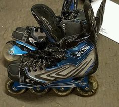 CCM Vector 8.0  Inline Hockey Roller Blades Skates Adult Size 8D FREE SHIPPING