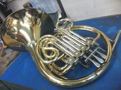 French horns repaired at www.brassaccessories.co.uk