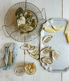 How My Big Health Life Changes Make Me Feel Now, and a Spring Rhubarb Mignonette for Oysters - Eat Boutique - Food Gift Love