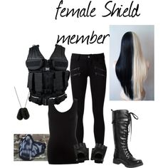 """""""female SHIELD member"""" by hitthisfeeling on Polyvore"""