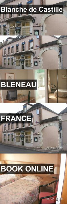 Hotel Blanche de Castille in Bleneau, France. For more information, photos, reviews and best prices please follow the link. #France #Bleneau #travel #vacation #hotel
