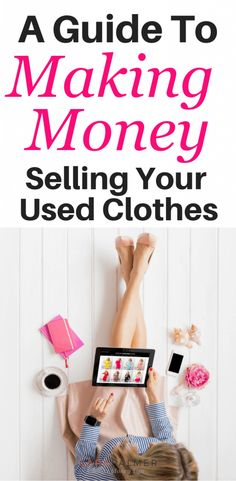 Selling clothing online or at a thrift store is easy. To help you out, I've put together a list to of the best places to sell clothes online. Make Money From Home, Way To Make Money, Make Money Online, Jessica Biel, How To Sell Clothes, Living On A Budget, Frugal Living, Managing Your Money, Financial Tips