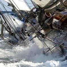 Go Sailing, Get Inspired Old Sailing Ships, Classic Sailing, Sail Away, Set Sail, Wooden Boats, Tall Ships, Water Crafts, Adventure, Sailboats