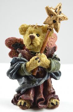 boyds bears figurines | Boyds Bears Serendipity as The Guardian Angel Resin Figurine ...