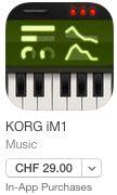iM1 der legendäre KORG Synth der 90er