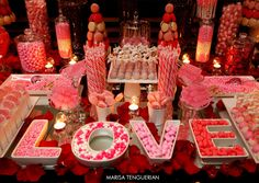 Candy Table Wedding. marisatenguerian.com