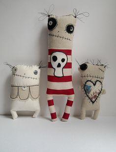 JunkerJane fabric doll 2 | JunkerJane makes these lovely plu… | Flickr