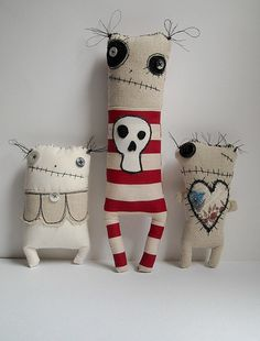 JunkerJane fabric doll 2 | JunkerJane makes these lovely plu… | Flickr