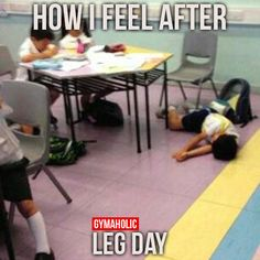 How i feel after leg day gif