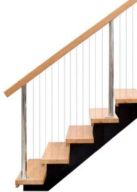 Stainless Steel Vertical Wire balustrade