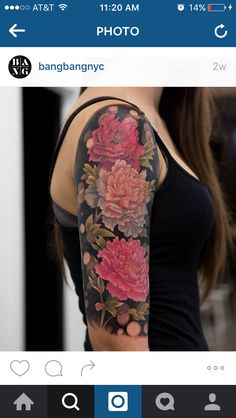Peony tattoo by mikhail anderson Gardening Go Tattoos Tattoos, Peonies tattoo, Sleeve tattoos Et Tattoo, Piercing Tattoo, Piercings, Armor Tattoo, Pretty Tattoos, Beautiful Tattoos, Cool Tattoos, Tatoos, Cover Up Tattoos