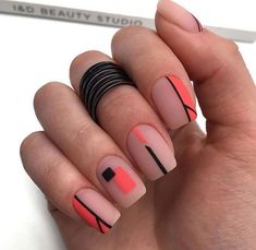 Nail Color 58 Chic Natural Gel Short Coffin Nails Color Ideas For Summer Nails matte pink short square nails design for summer nails, Acrylic Summer nails color design, Natural gel short coffin nails design ideas, Acrylic short square nails ideas, Square Nail Designs, Short Nail Designs, Colorful Nail Designs, Nail Art Designs, Nails Design, Easy Designs, Cute Acrylic Nails, Cute Nails, Gel Nails