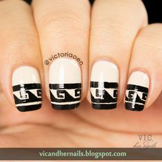 Vic and Her Nails: OMD2 Day 30 - Fashion Inspired (Catch Up!)