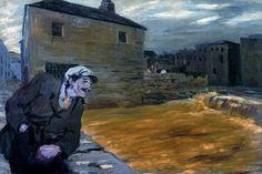 Morning After Rain, Jack Butler Yeats Kensington School, Devon Life, Moving To Ireland, Jack B, Short Stories For Kids, Irish Eyes Are Smiling, Irish Art, Urban Life, Art For Art Sake