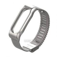Aксессуар Ремешок Apres Mijobs Metal Strap for Xiaomi Mi Band 2 Silver