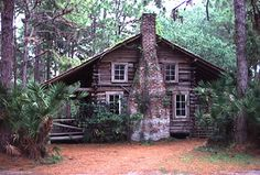 """Cracker"""" log home of the pioneer period, ..."""
