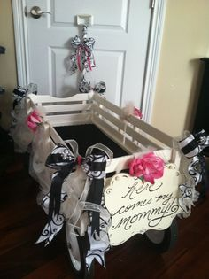 White Wagons For Weddings Flower Wagon I Just Finished A