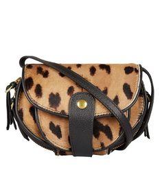 Leopard Momo Shoulder Bag