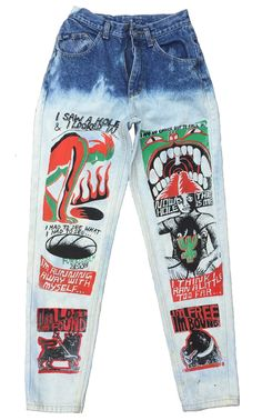 I SAW A HOLE AND I LOOKED IN…FORBIDDEN ZONE JEANS