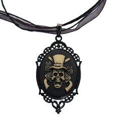 Goth Shopaholic: Victorian Scarlett's Splendid Gothic Cameo Jewelry