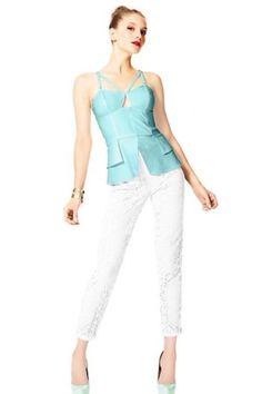 Season 2 Finale Bodycon Tops, Star Fashion, Cool Designs, Cool Outfits, Peplum, Aqua, Pajama Pants, Jumpsuit, Popular