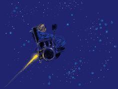 farewell, dr. Hawking by Raul Avila