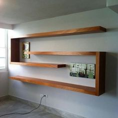 Home Decor Furniture, Diy Home Decor, Furniture Design, Room Decor, Furniture Making, Bookshelf Design, Wall Shelves Design, Regal Design, Home Projects