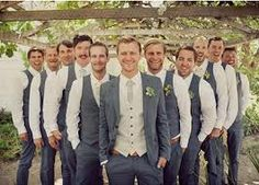 love the grooms colour combo-subtle but makes him stand out