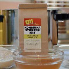 Kombucha - I chose this starter, but green tea for more antioxidents
