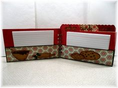 Created By Leanne: Holiday Recipe Mini Album