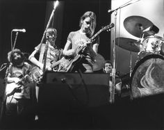 Grateful Dead at Fillmore East all wearing Fillmore Usher Jerseys Grateful Dead Shows, Grateful Dead Music, John Perry Barlow, Mickey Hart, Fillmore East, Jerry Garcia Band, Bob Weir, Country Videos, Music