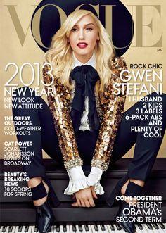 Vogue US January 2013