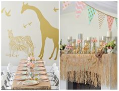So cute safari party
