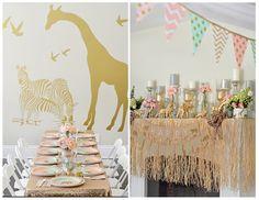 So cute safari party