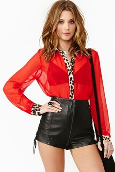 Wild One Blouse