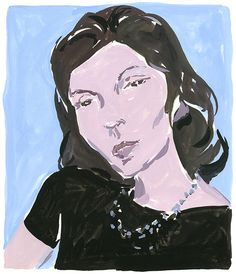 A portrait of Clarisse Lispector for The New York Times Sunday Book Review