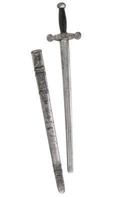 KNIGHTS SWORD WITH SHEATH
